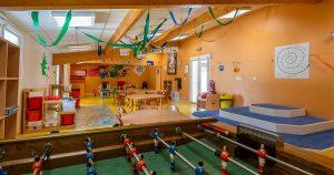 Espace jeux de l'accueil de loisirs Acti'Mômes de L'Herbergement