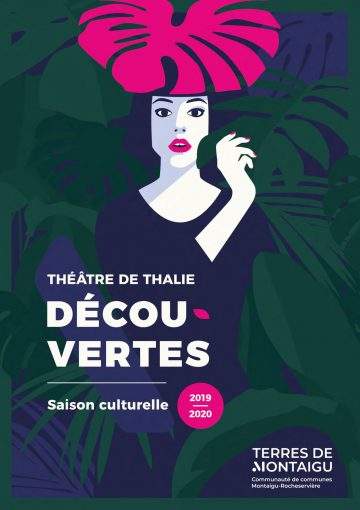 Image : couverture - Dépliant saison 2019-2020 - Théâtre de Thalie - Terres de Montaigu