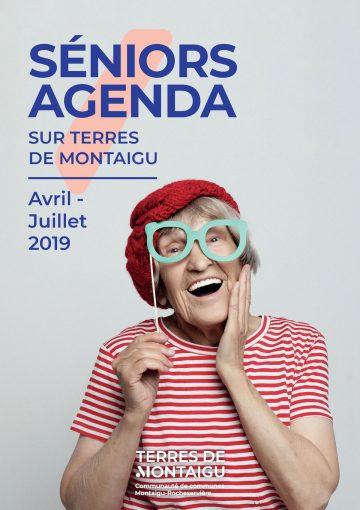 Couverture - Seniors Agenda Avril/Juillet 2019 - Terres de Montaigu