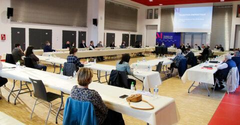 Photo : conseil communautaire Terres de Montaigu du 29 mars 2021