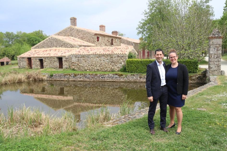 Image : Benjamin et Audrey Patissier - Restaurant La Chabotterie - Montréverd